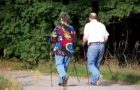 Gesund, gesünder, Nordic Walking